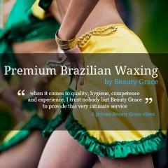 Brazilian waxing for women at Beauty Grace