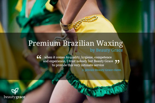 Brazilian waxing for women at Beauty Grace