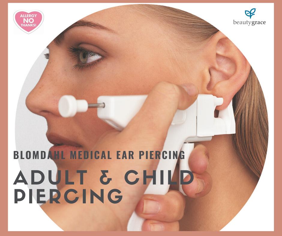 Medical Ear Piercing Beauty Grace