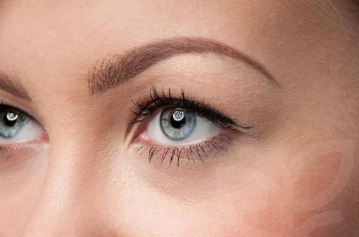 cosmetic eyebrow embroidery