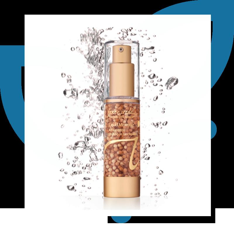 Jane Iredale Liquid Minerals Foundation Beauty Grace