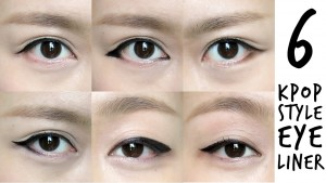 eyeliner-kpop-sytle