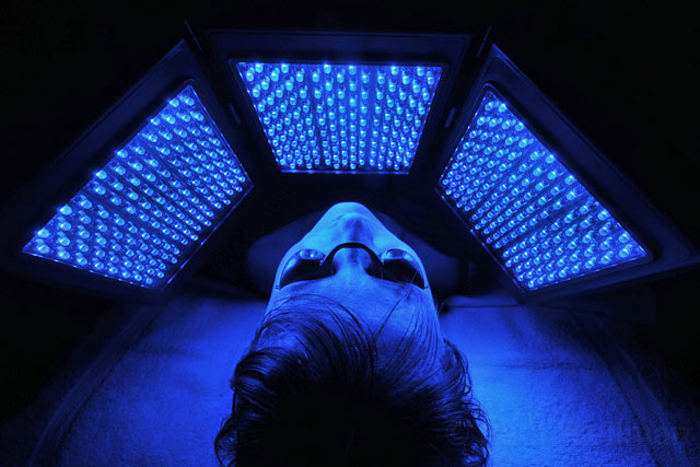 blue light therapy lightwave led blue light therapy for acne reduction 30243