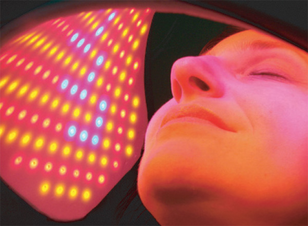 Image result for led red face